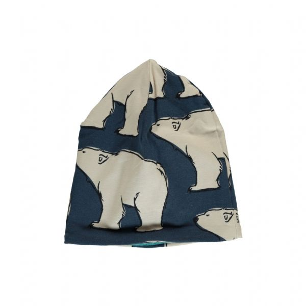 Maxomorra Hat Velour Polar Bear